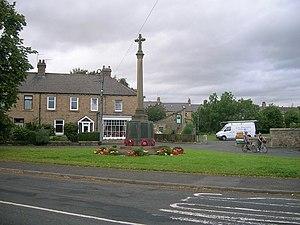 Wylam - Image: Wylam war memorial