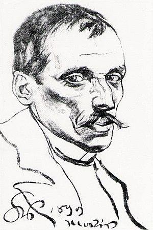 Włodzimierz Tetmajer - Portrait of Włodzimierz Tetmajer by Stanisław Wyspiański.
