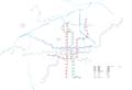 Xi'an Metro System Map Plan 2022.png