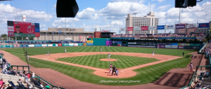 Dunkin' Donuts Park - Image: Yard Goats vs. Fightin Phils August 20, 2017