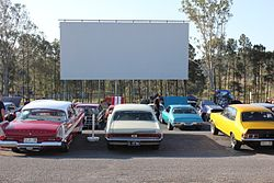 Yatala Drive In During A Themed Event 2013