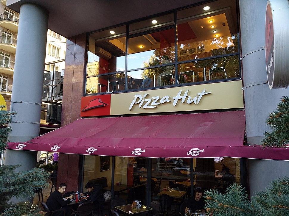 Yerevan - Pizza Hut restaurant Tumanyan Street (2018)