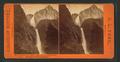 Yo Semite Falls, 2,634 feet high, Lost Arrow Mountain on right. Yo Semite Valley, California, by Pond, C. L. (Charles L.).png