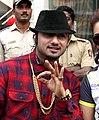 Yo Yo Honey Singh and Huma Qureshi at Celebrity Cricket League 2014 (cropped).jpg