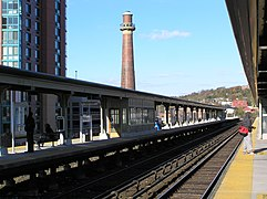 Yonkers Metro North Stop 2012