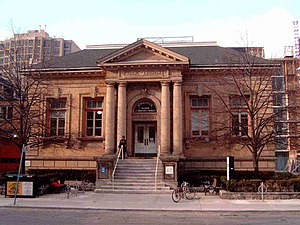 Toronto Public Library - Yorkville Library, one of several Carnegie libraries in Toronto