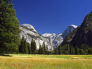 Applied ecology - Yosemite National Park in the United States.