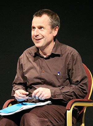 Jeremy Hardy - Hardy during a recording of You'll Have Had Your Tea for BBC Radio 4 in 2006.