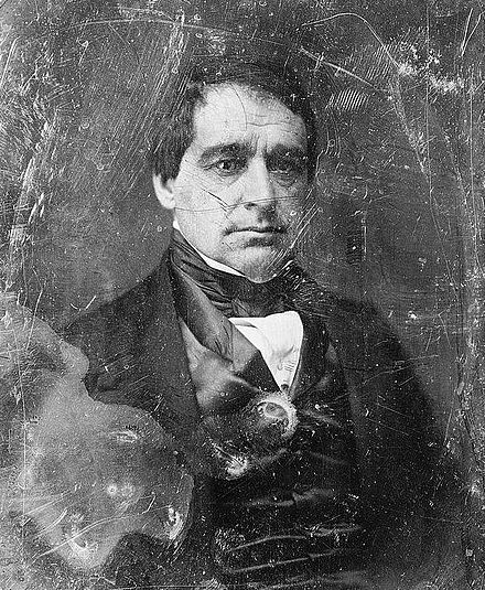 Hamlin in early middle age (30s or 40s) Younger Hannibal Hamlin.jpg
