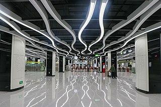 Yuzhu station Guangzhou Metro interchange station