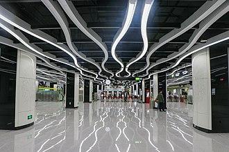 Yuzhu station - Concourse