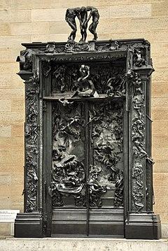 Zürich - Kunsthaus - Rodin's Höllentor IMG 7384 ShiftN