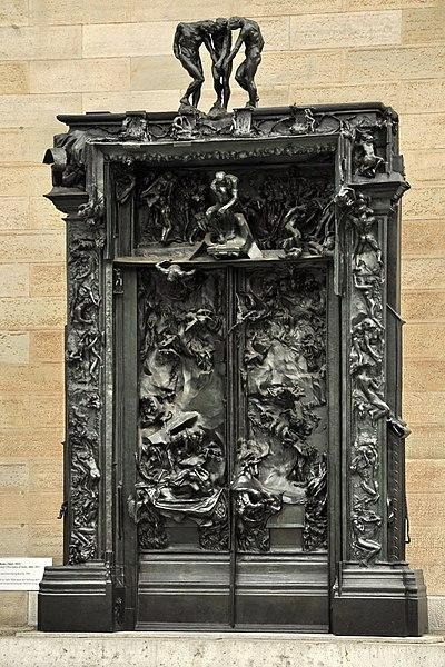 Auguste Rodin 400px-Zürich_-_Kunsthaus_-_Rodin's_Höllentor_IMG_7384_ShiftN