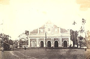 Zahira College, Colombo - Zahira College Mosque, also known as the Maradana Mosque.  The mosque was established long before the college was started and was patronized by A.M. Wapchie Marikar.