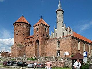Reszel Place in Warmian-Masurian Voivodeship, Poland