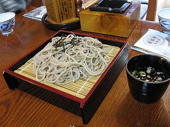 Zaru soba by spinachdip