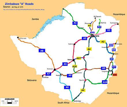 Transport in Zimbabwe - Wikiwand on zimbabwe tourist attractions, zimbabwe history, africa road map, nevis road map, australia road map, crimea road map, india road map, palau road map, french guiana road map, zimbabwe market, caicos islands road map, dakar road map, harare road map, paraguay road map, montserrat road map, saba road map, zimbabwe resources, uk england road map, st barts road map, u.s. road map,