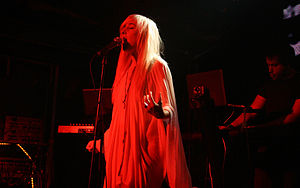 Zola Jesus during her concert at Flex at the W...
