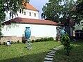 Zsolnay Múzeum kert.JPG