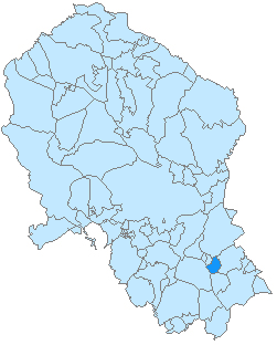 Zuheros-mapa