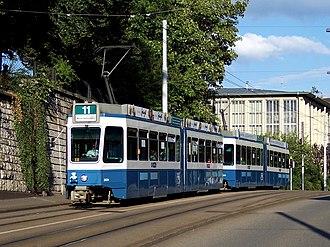 Brown, Boveri & Cie - Image: Zurich Be 4 6 Tram 2000 2024 Kreuzbuehlstrasse