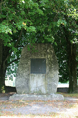 Second War of Kappel - Zwingli memorial at Kappel