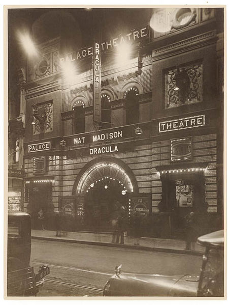 "File:""Dracula"", Palace Theatre, Pitt Street, Sydney, 1929 - by Sam Hood (3273892924).jpg"