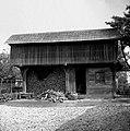 """""""Drvar?nca"""" (drvarnica) zgrajena leta 1940. Napravil lastnik Anton Borse. Dol. Maharovec 18 1952 (3).jpg"""