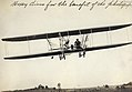 """""""Hoxey (sic) dives for the benefit of the photographer."""" Arch Hoxsey at the International Air Meet, Kinloch Field. October 1910.jpg"""