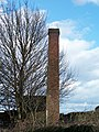 'Close up' of Disused Chimney, above Bradfield - geograph.org.uk - 714039.jpg