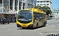 'Go Wellington'-trolley bus going along Taranaki Street on the last day of service (31 Oct 2017).jpg