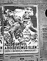 'Közös erővel a bolsevizmus ellen Európa és Magyarország fennmaradásáért!' Plakát, 1944. Fortepan 72668.jpg