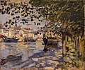 'The Seine at Rouen' by Claude Monet, 1872, Hermitage.JPG