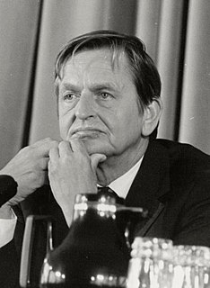 Olof Palme Swedish politician, Prime Minister from 1969-76 and 1982-86