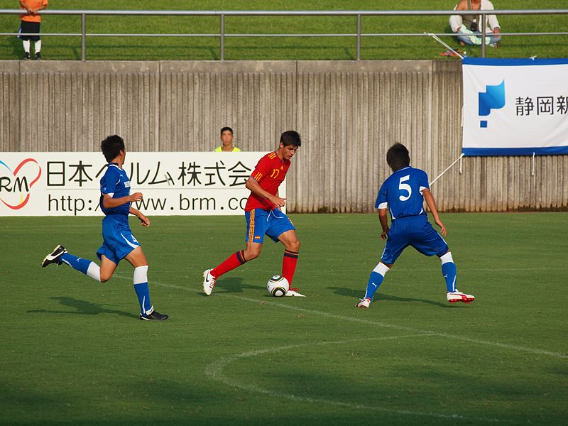 File:Álvaro Morata, Spain U-19, SBS Cup 2010 in Fujieda, Japan.jpg