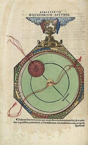 Equatorium - Equatorium from Johannes Schöner