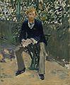 Édouard Manet - George Moore dans le jardin de l'artiste.jpg