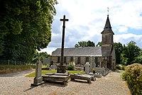 Église Saint-Martin de Lignou. Vue nord-ouest.jpg