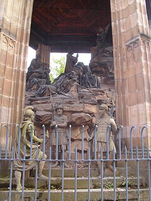 Philip I of Rosenberg -  The Mount of Olives created outside Speyer Cathedral during the reign of Philip I