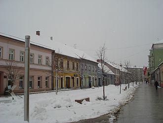 Čakovec - City center