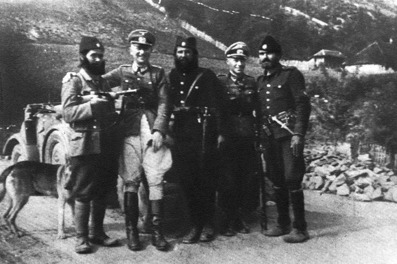 Četnici i Nemci u okupiranoj Jugoslaviji
