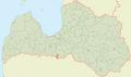 Īslīces pagasts LocMap.png