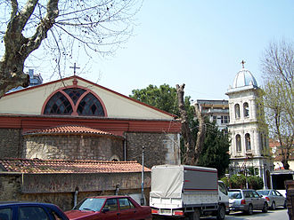 Kuzguncuk - Greek Orthodox Church in Kuzguncuk
