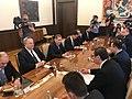 Συνάντηση ΥΠΕΞ Ν. Κοτζιά με τον Πρόεδρο της Σερβίας A. Vučić στο Βελιγράδι (41342895412).jpg