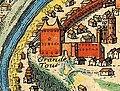 Башня Стефана Батория. Фрагмент французского плана 1691.jpg