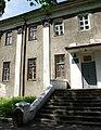 Бродівський замок палац Потоцького вхід до Бродівської малої академії наук учнівської молоді.jpg