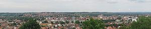 Ваљево панорама града