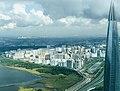 Вид на Юнтоловский заказник и озеро Лахтинский Разлив со стороны Финского Залива, авторская аэросъемка.jpg