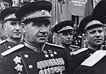 Дважды Герой Советского Союза генерал-полковник В. И. Чуйков на Параде Победы.jpg