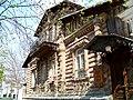 Дом из камня, имитация деревянного сруба - panoramio.jpg